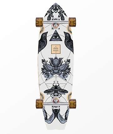 "Arbor Sizzler Bamboo 31"" Cruiser Complete Skateboard"