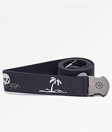 Arcade Strand Black & Grey Web Belt