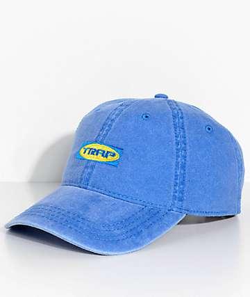 Artist Collective Trap Bag Faded Royal Blue Strapback Hat