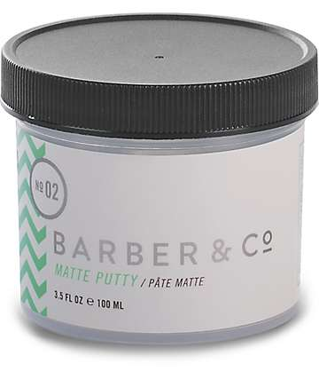 Barber & Co. No. 02 Matte Hair Putty