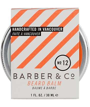 Barber & Co. No. 12 Beard Balm
