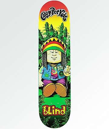 """Blind Cabbage Pot Kids 7.75"""" Skateboard Deck"""