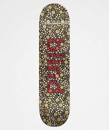 """Blind Color Blind 8.25"""" Army Green Skateboard Deck"""