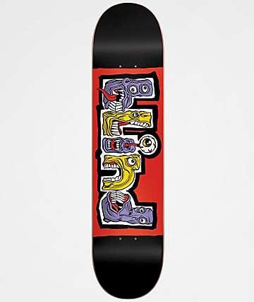 "Blind Hungry 7.75"" Black & Red Skateboard Deck"