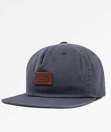 Brixton Grade II UC Graphite Snapback Hat