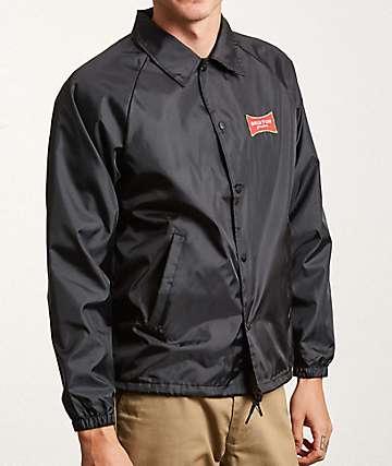 Brixton Ramsey II Black Coaches Jacket