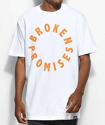 Broken Promises 360 White T-Shirt