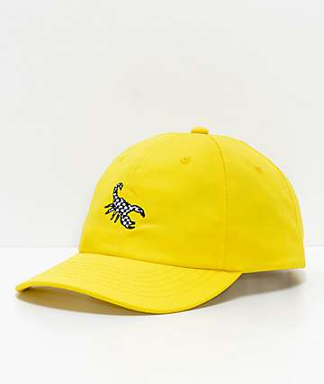 Broken Promises Checker Scorpion Strapback Hat