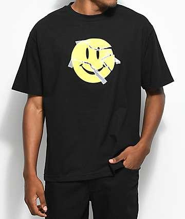 Broken Promises I'm Fine Black T-Shirt