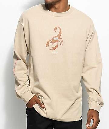 Broken Promises Stinger Sand Long Sleeve T-Shirt