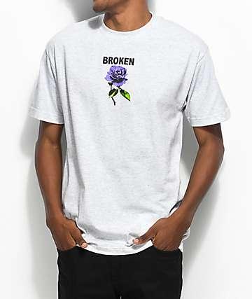 Broken Promises Thornless Grey T-Shirt