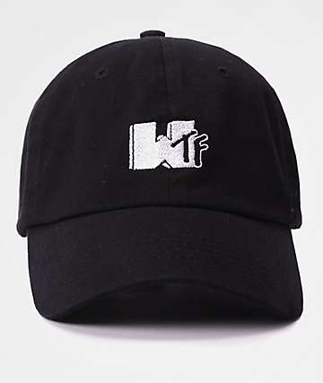 By Any Memes WTF Black Dad Hat
