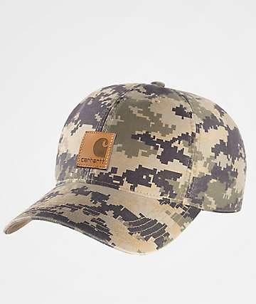 Carhartt Odessa Dark Khaki Digi Camo Dad Hat