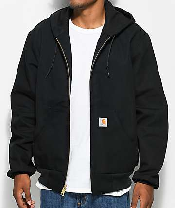 Carhartt Thermal Lined Duck Active Black Jacket