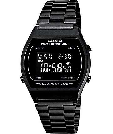 Casio B640WB-1BVT All Black Vintage Watch