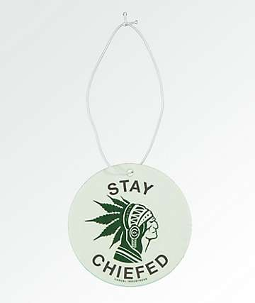 Casual Industrees Stay Chiefed Vanilla Air Freshener