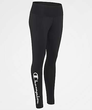 Champion Absolute Black Leggings
