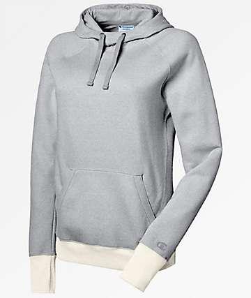 Champion Fleece Oxford Grey Hoodie