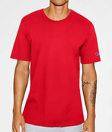 Champion Heritage Team Red Scarlet T-Shirt
