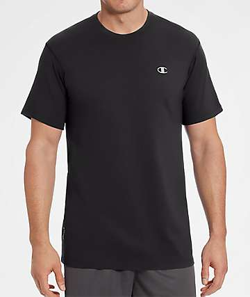 Champion Vapor Cotton Black T-Shirt