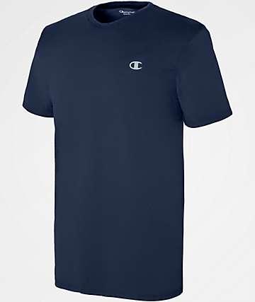 Champion Vapor Cotton Navy T-Shirt