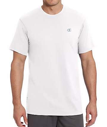 Champion Vapor Cotton White T-Shirt