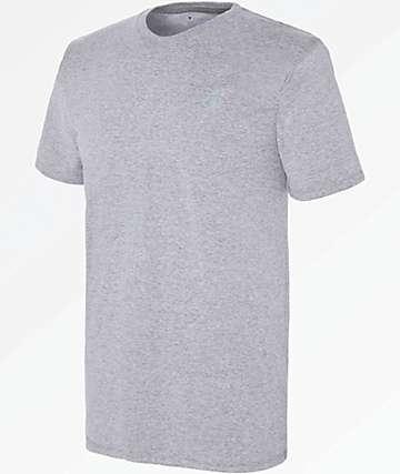 Champion Vapor Grey Cotton T-Shirt