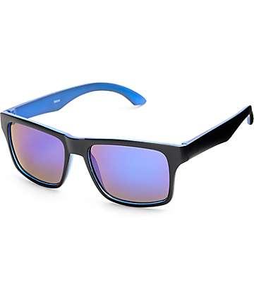 Classic Black & Blue Revo Sunglasses