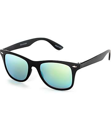 Classic Friday Smooth Black & Gold Revo Sunglasses