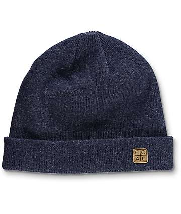Coal The Harbor Navy Cuff Beanie