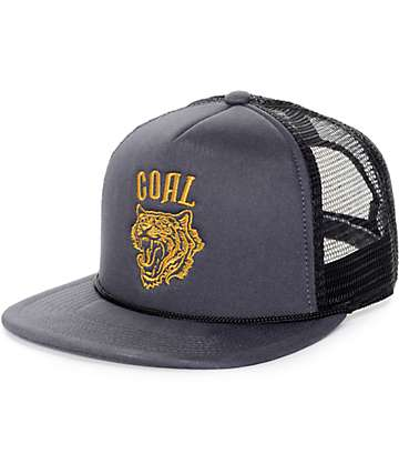 Coal The Khan Charcoal Trucker Hat