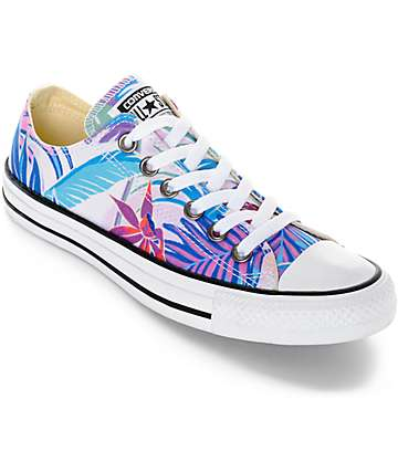 Converse Chuck Taylor All Star Ox Fresh Floral Print Shoes