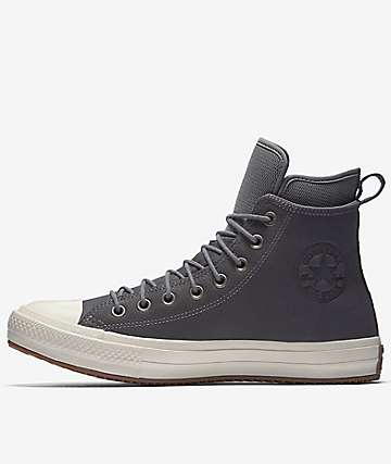 Converse Chuck Taylor All Star Waterproof Mason, Egret & Gum Shoes