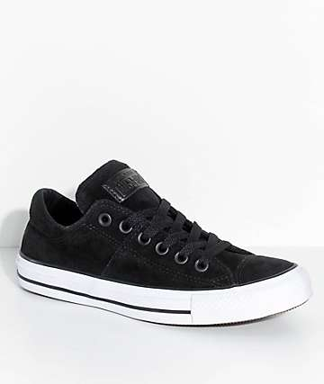 Converse Chuck Taylor All Stars Madison Black Suede Shoes