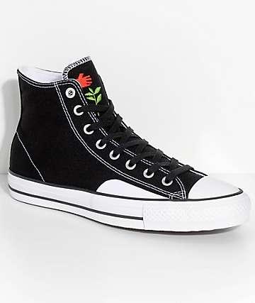 Converse x Chocolate CTAS Pro Black & White Skate Shoes