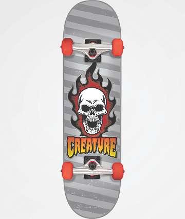 "Creature Bonehead 7.75"" Skateboard Complete"