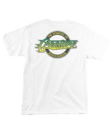 Creature Horror City White T-Shirt
