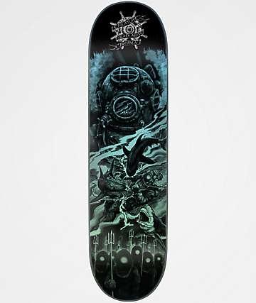 """Creature Partanen Black Abyss 8.0"""" Skateboard Deck"""