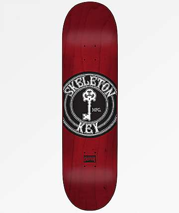 "Creature Skeleton Key 8.25"" Skateboard Deck"