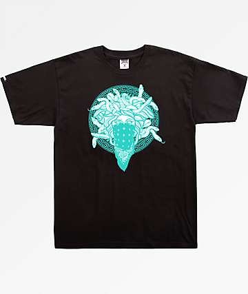 Crooks & Castles Bandusa Black T-Shirt