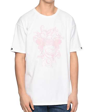 Crooks & Castles Chain Seas Medusa White T-Shirt