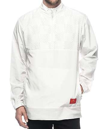 Crooks & Castles Chequered White Anorak Jacket