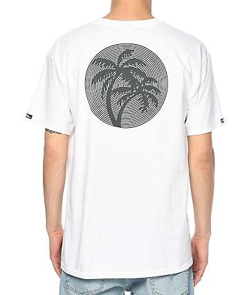 Crooks & Castles Paraiso White T-Shirt