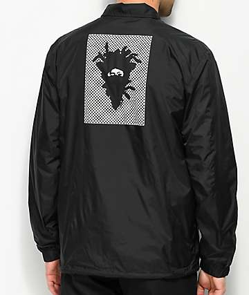 Crooks & Castles Check Black Coaches Jacket