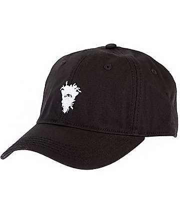 Crooks & Castles Cryptic Medusa Black Snapback Hat