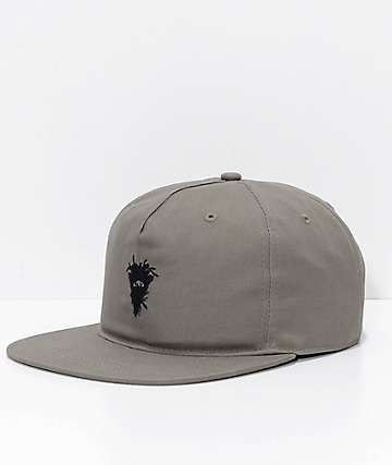 Crooks & Castles Cryptic Medusa Rifle Green Snapback Hat