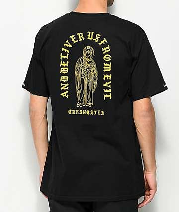 Crooks & Castles Deliver Us Black T-Shirt