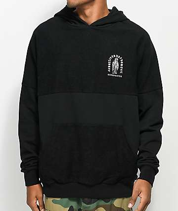Crooks & Castles Deliver Us Dolman Black Hoodie