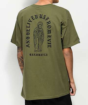 Crooks & Castles Deliver Us Green T-Shirt