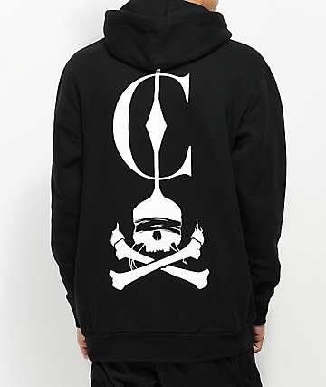 Crooks & Castles Reaper Black Hoodie